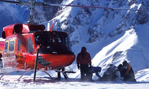 Хели-ски в Канаде