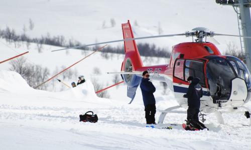 Хели-ски в Грузии