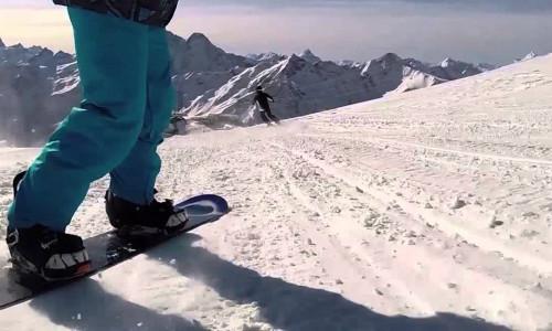 Сноубординг в Приэльбрусье