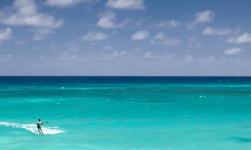 Кайтсерф на Барбадосе