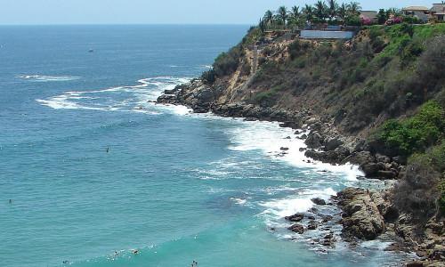 Серфинг в Пуэрто-Эскондидо