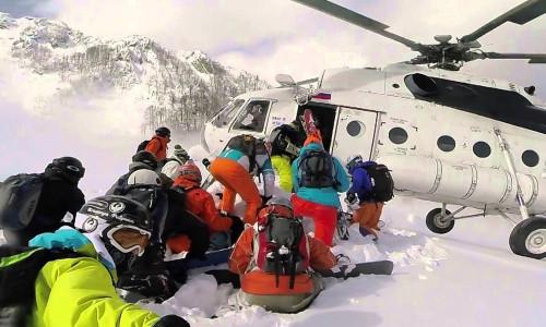 Хели-ски в США