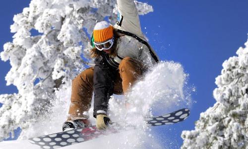 Сноубординг на Алтае